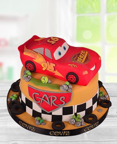 Şimşek McQueen Doğum Günü Pastası