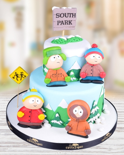South Park Doğum Günü Pastası